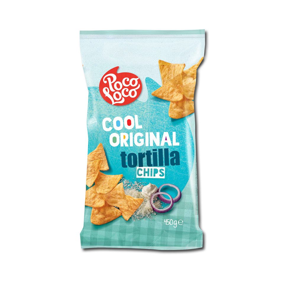 Image 450g Tortilla Chips Cool Original