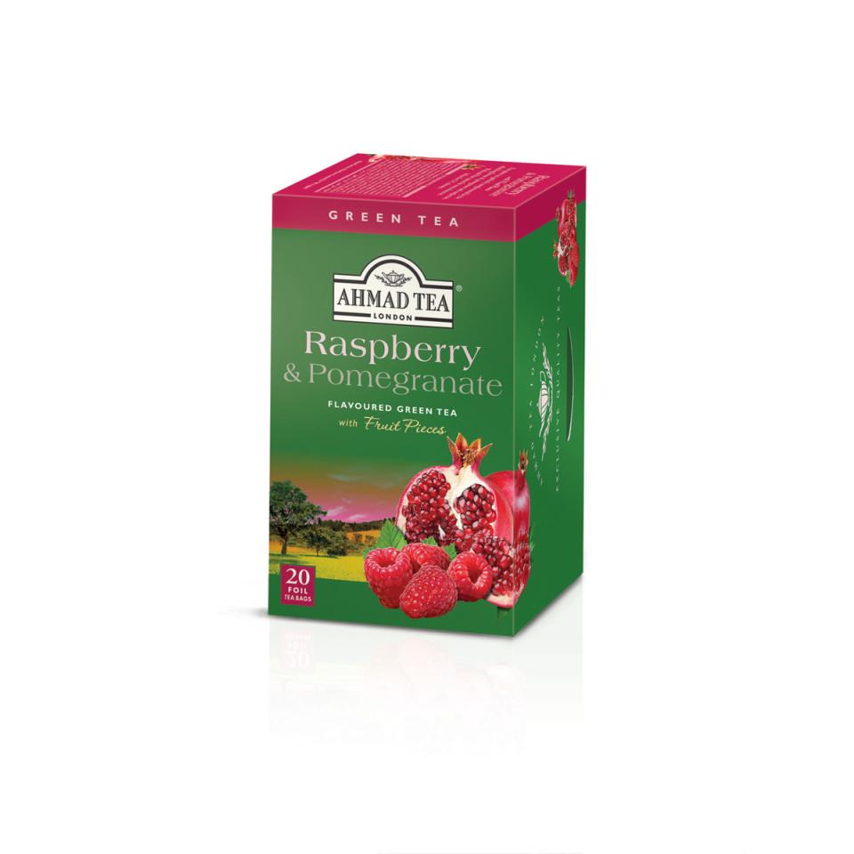 20 Alu t/b Raspberry & Pomegranate Green Tea