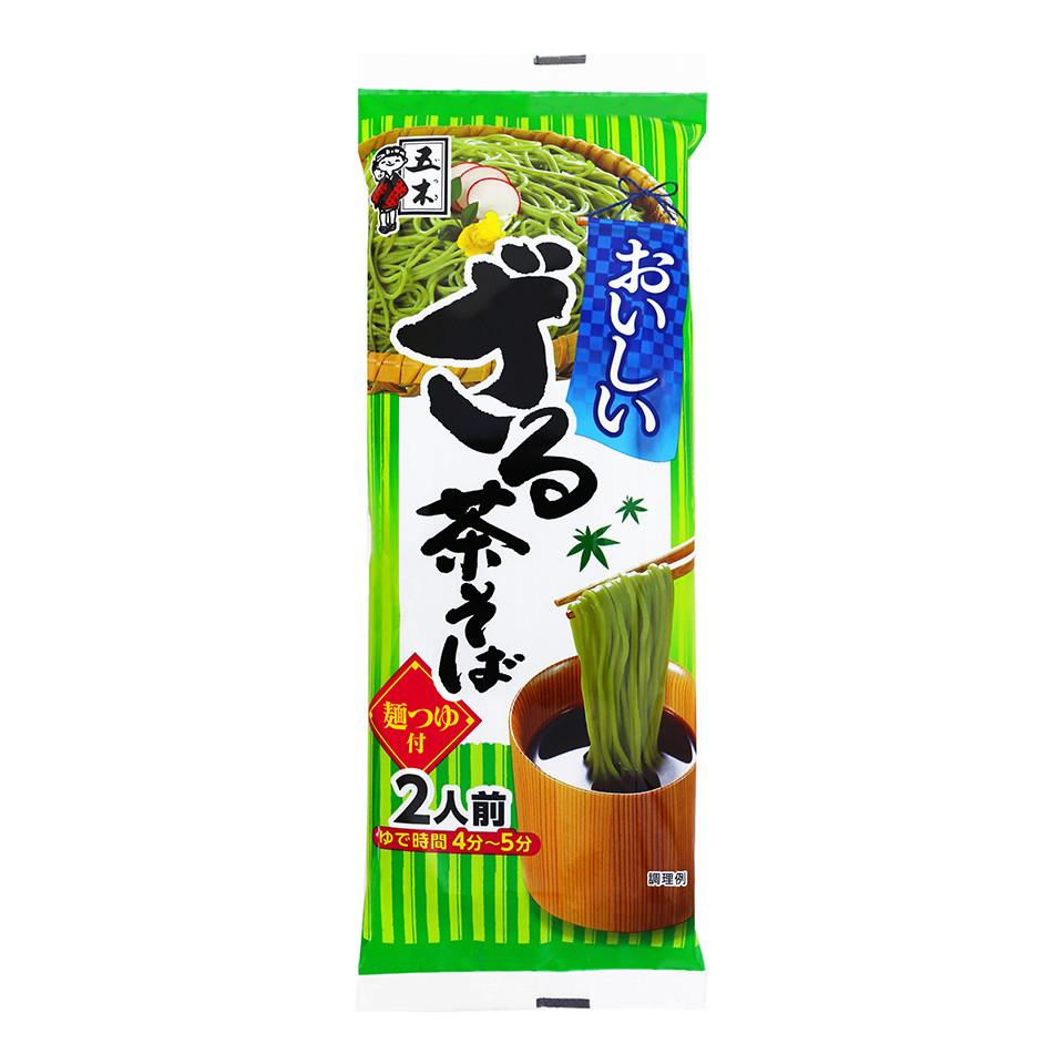 Image 190g Itsuki Cold Soba, Green Tea w/ Dip Dry