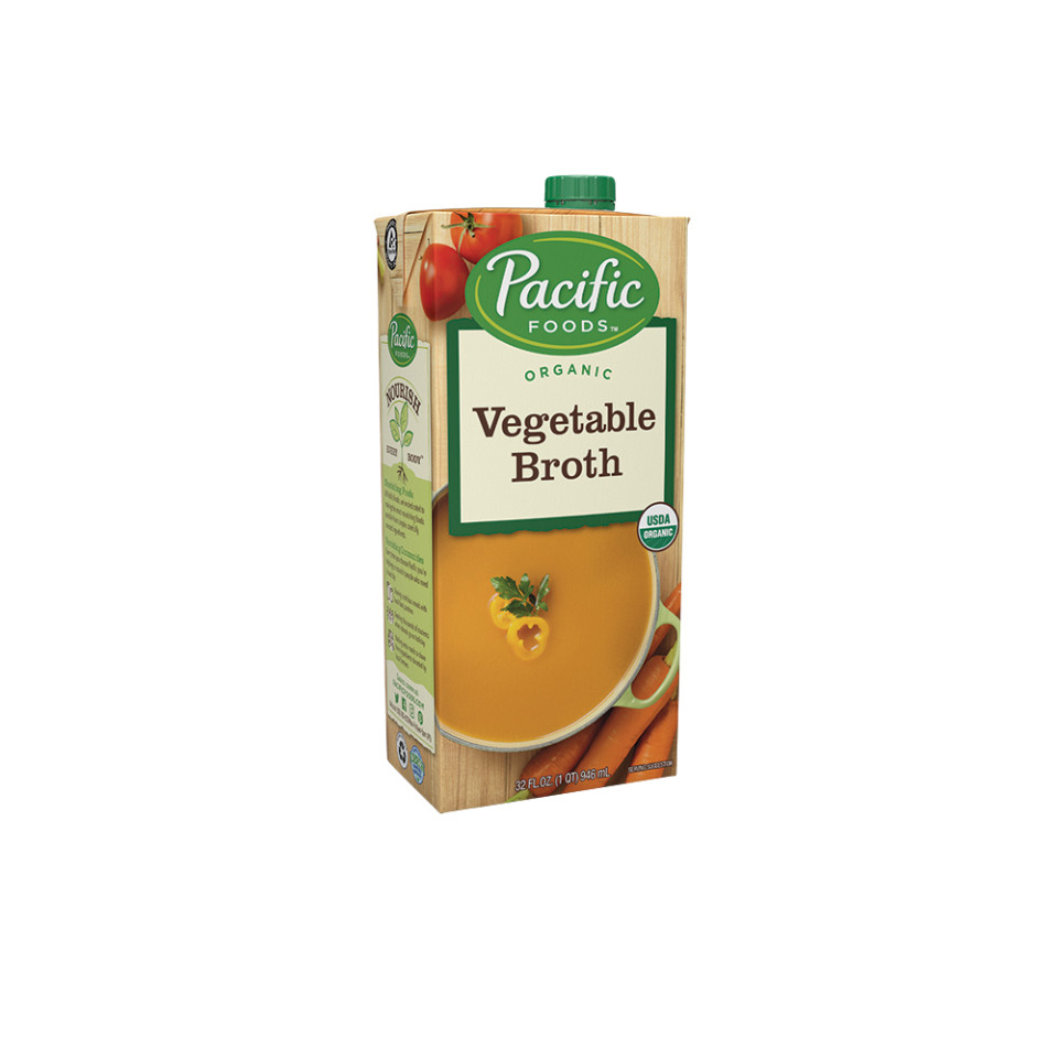 Image 32oz Pacific Organic Vegetable Broth