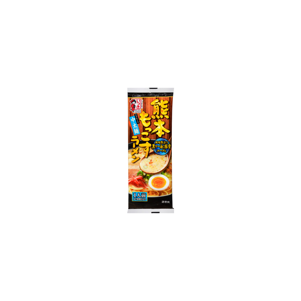 123g Itsuki Ramen, Kumamoto Mokkos, Dry