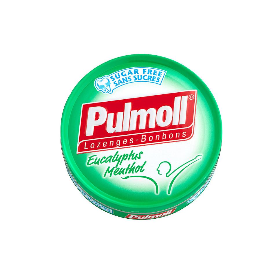 Image Pulmoll Eucalyptus Sugarfree 45g