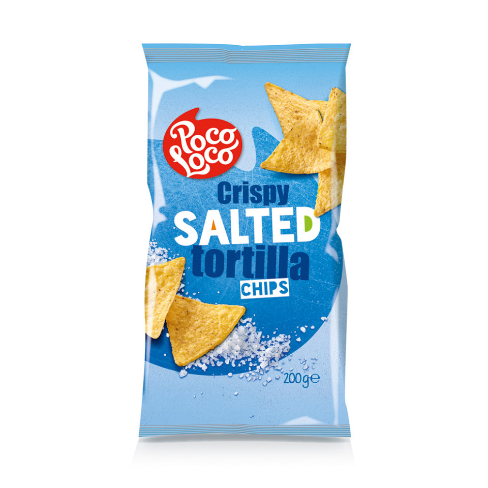 Image 200g Tortilla Chips Plain Salted