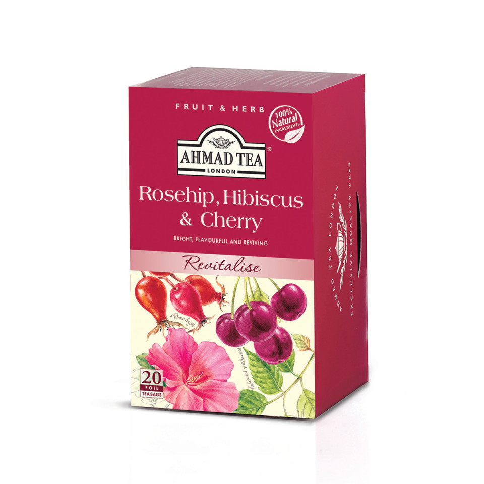 Image 20 t/b Rosehip & Cherry Herbal Infusions