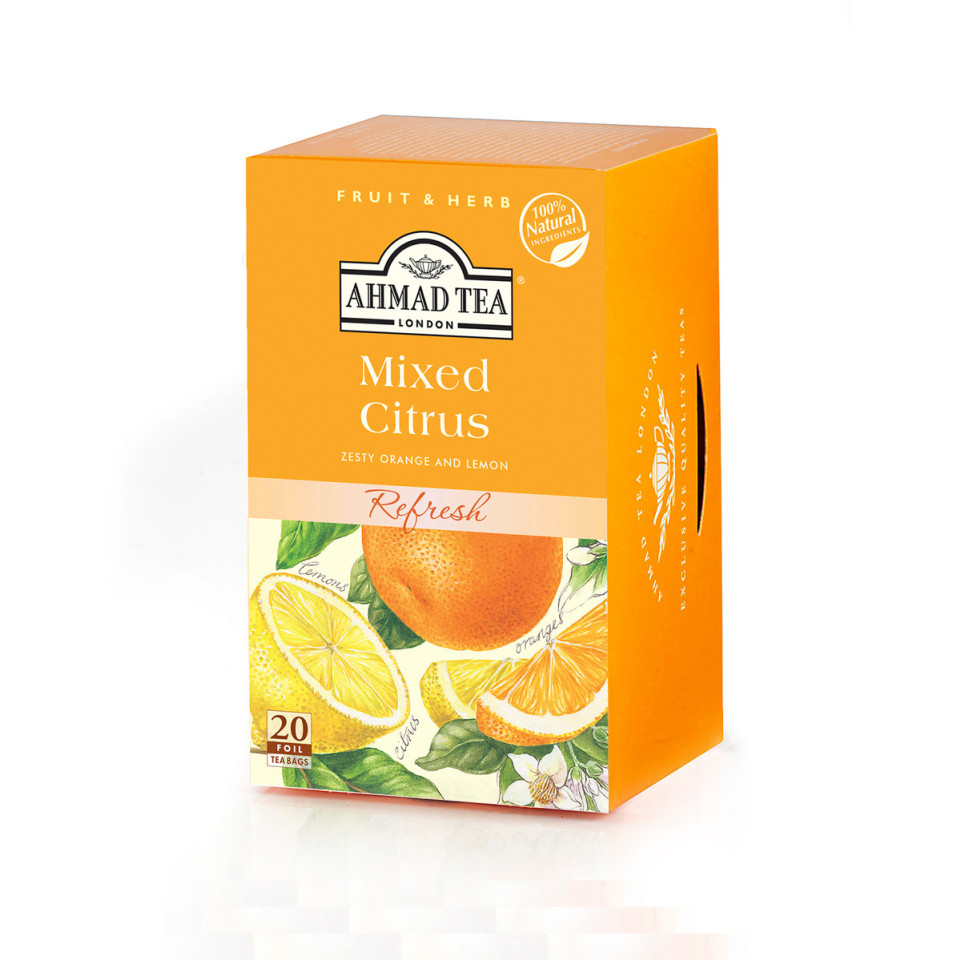 Image 20 t/b Mixed Citrus Herbal Infusions