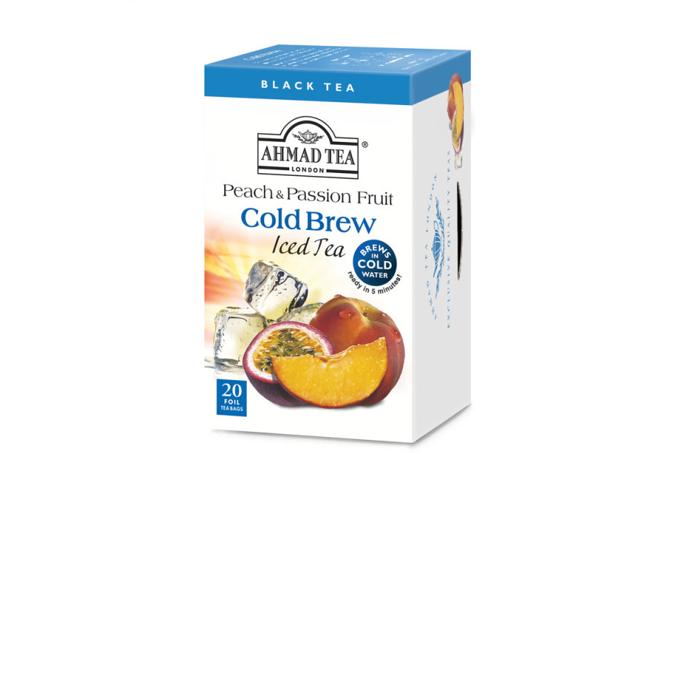 20 Alu t/b Cold Brew Peach & Passion Fruit
