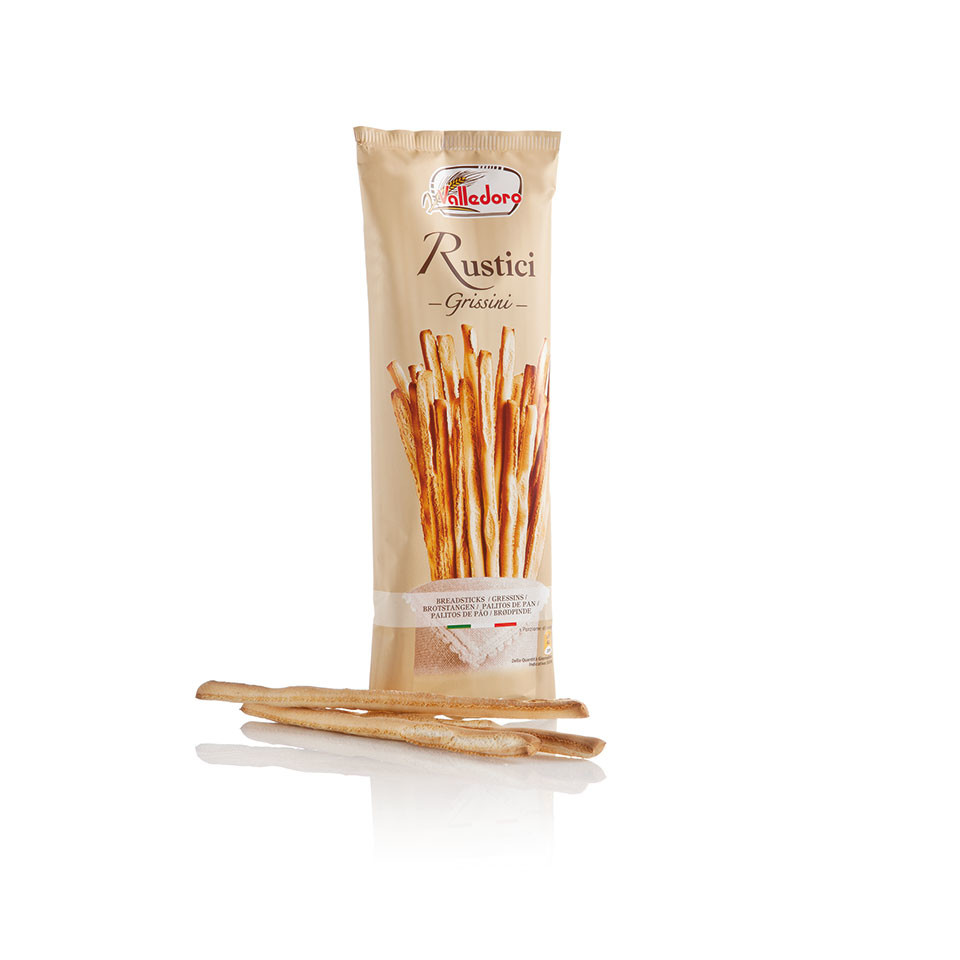 Image 100g Grissini Rustici Breadsticks
