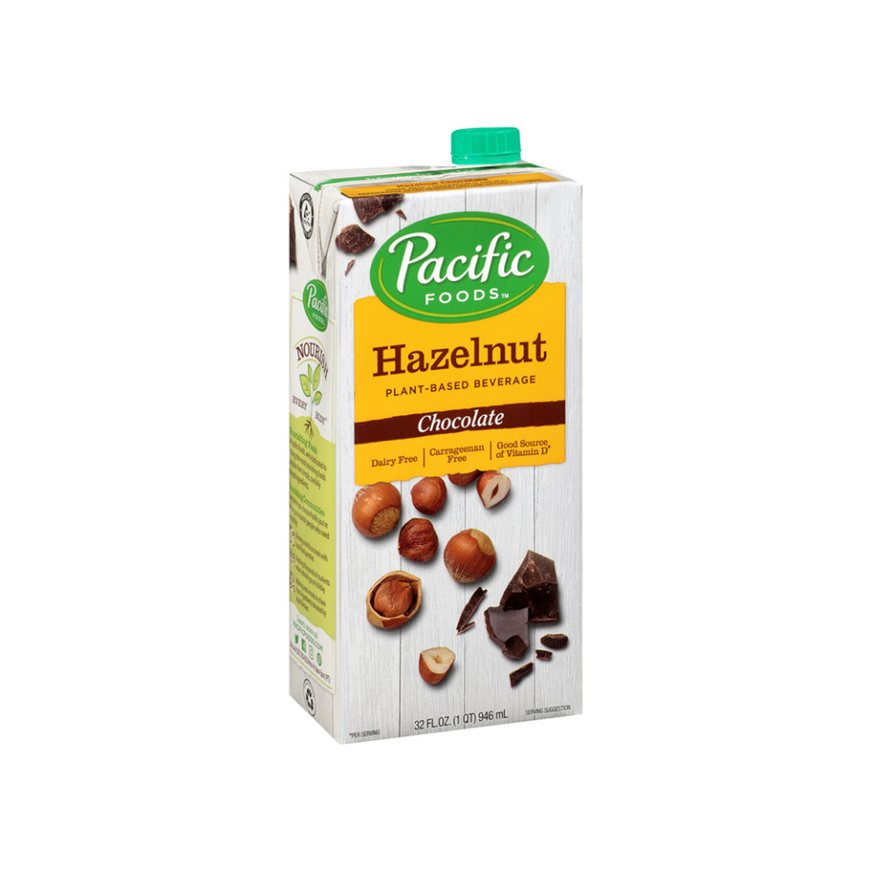 32oz Pacific Hazelnut Beverage - Chocolate