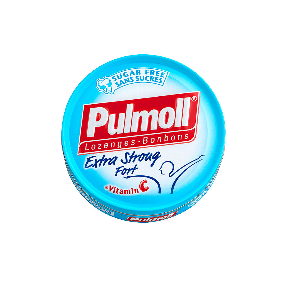 Image Pulmoll Extra Strong Fort Sugarfree 45g