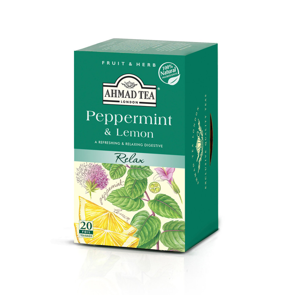 Image 20 t/b Peppermint & Lemon Herbal Infusions
