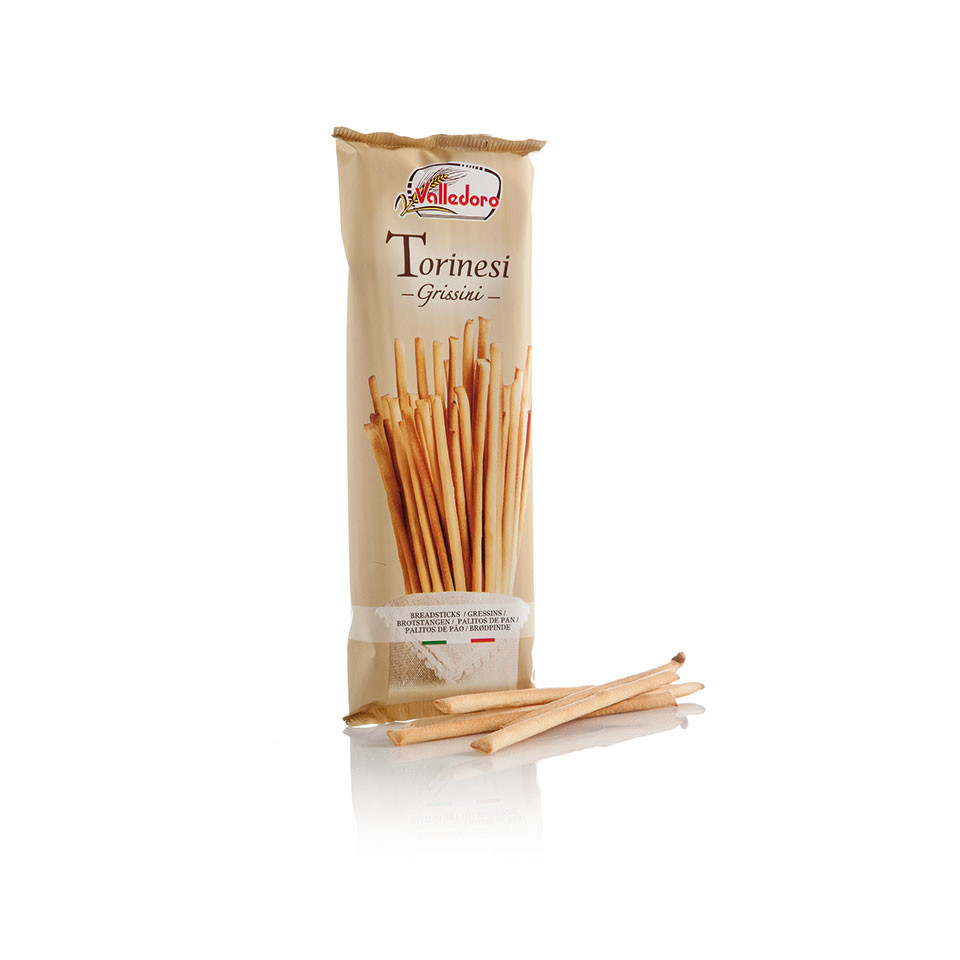 Image 100g Grissini Torinesi Breadsticks