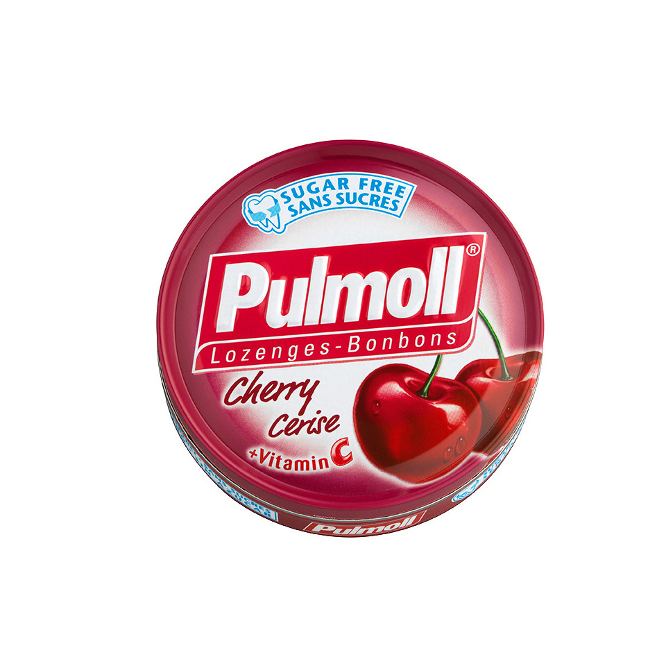 Pulmoll Cherry Sugarfree 45g