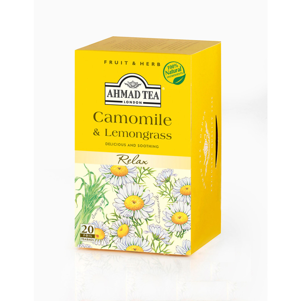 Image 20 t/b Camomile & Lemongrass Herbal Infusions