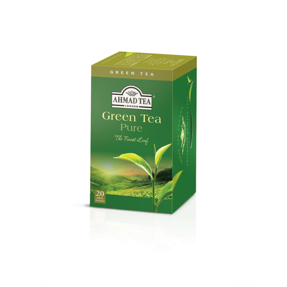 Image 20 Alu t/b Green Tea