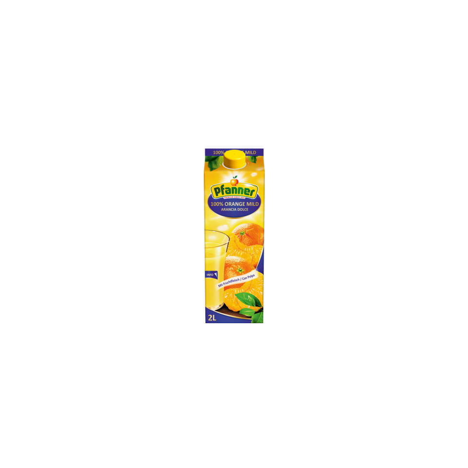 Image 100% Orange Juice with Pulp