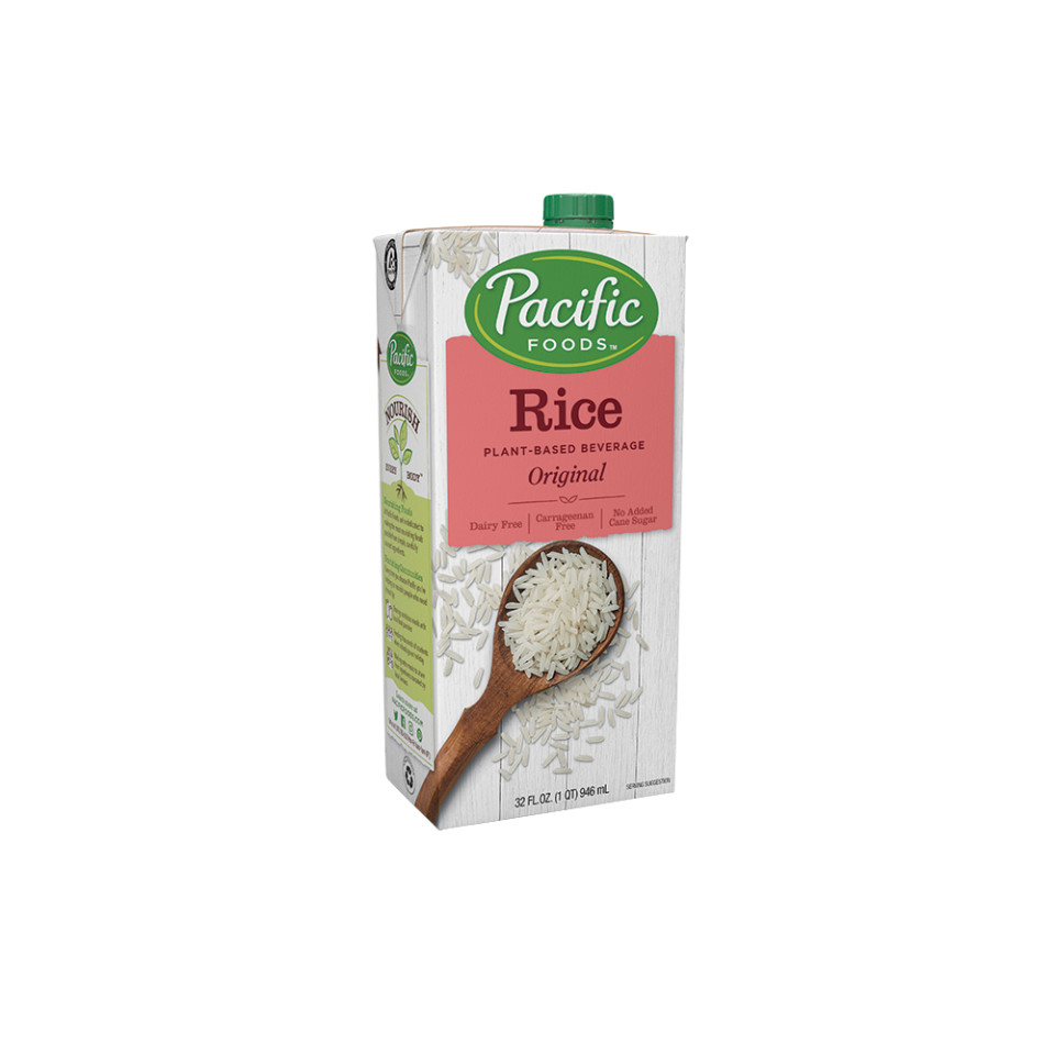 Image 32oz Pacific Brown Rice Beverage - Original