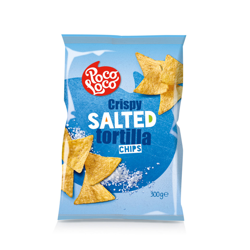 300g Tortilla Chips Plain Salted