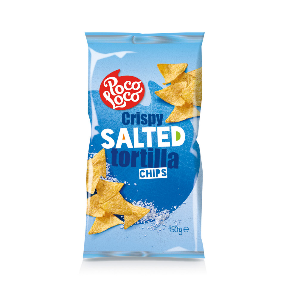 Image 450g Tortilla Chips Plain Salted