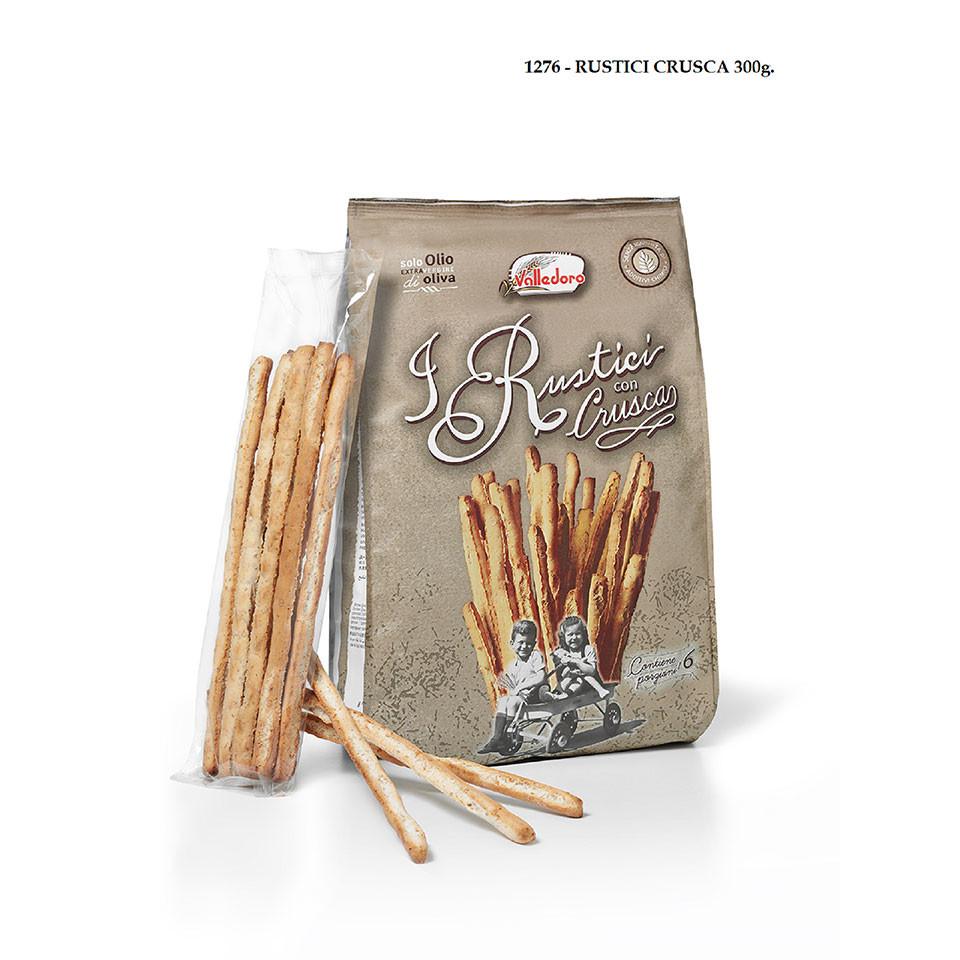 300g I Rustici Con Crusca Breadsticks
