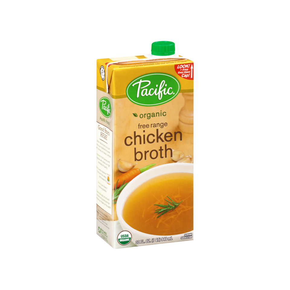 Image 32oz Pacific Organic Chicken Broth